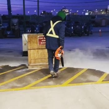 The leaf blower, now snow blower is a great multi seasonal rental! #a1rentallsequipment #multiseasonequipment #snowblower #onecallrentsall #rentlocal
